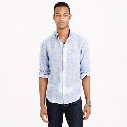 Rumpled Linen Shirt
