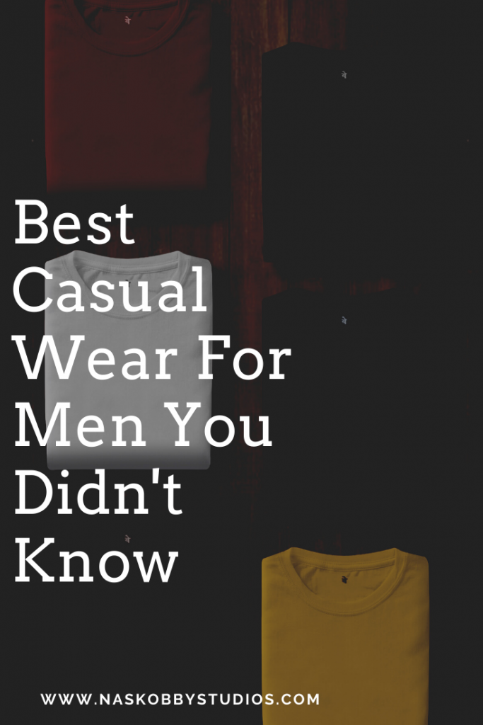 Best Casual Wear For Men You Didn't Know