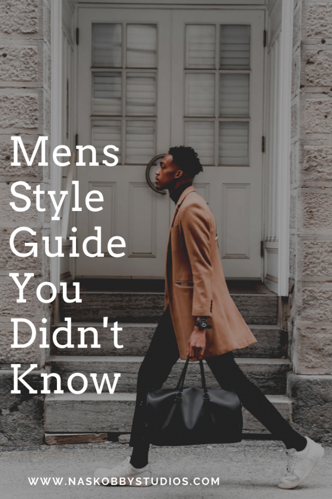 Mens Style Guide You Didn't Know