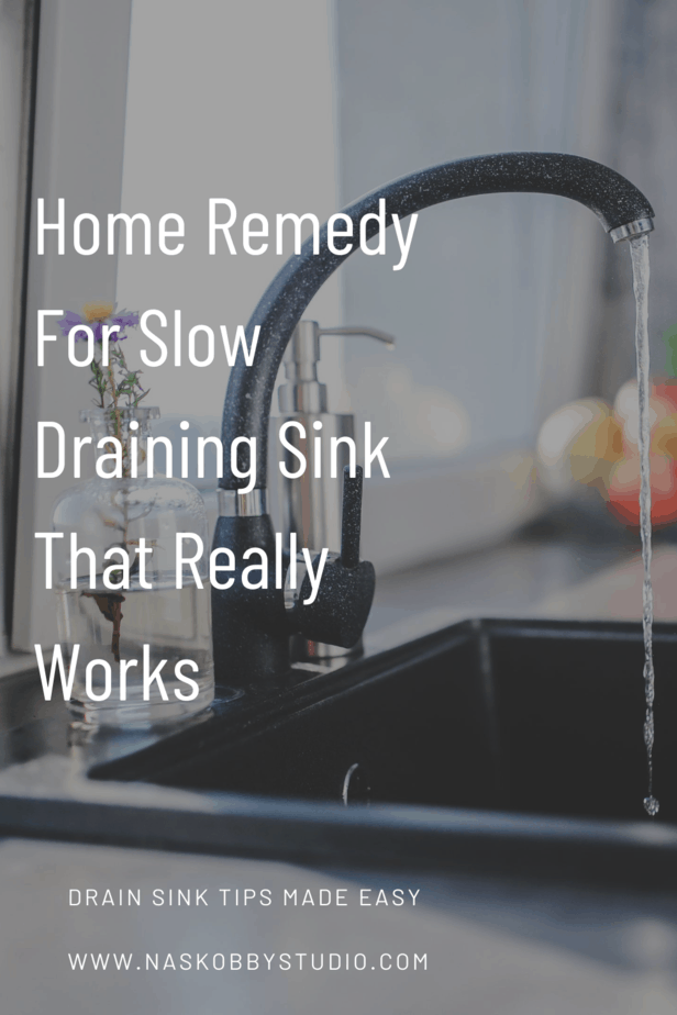 Home Remedy For Slow Draining Sink That Really Works