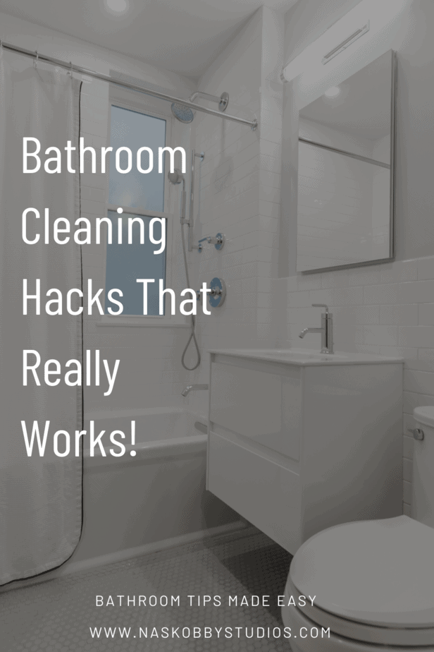 Bathroom Cleaning Hacks That Really Works!