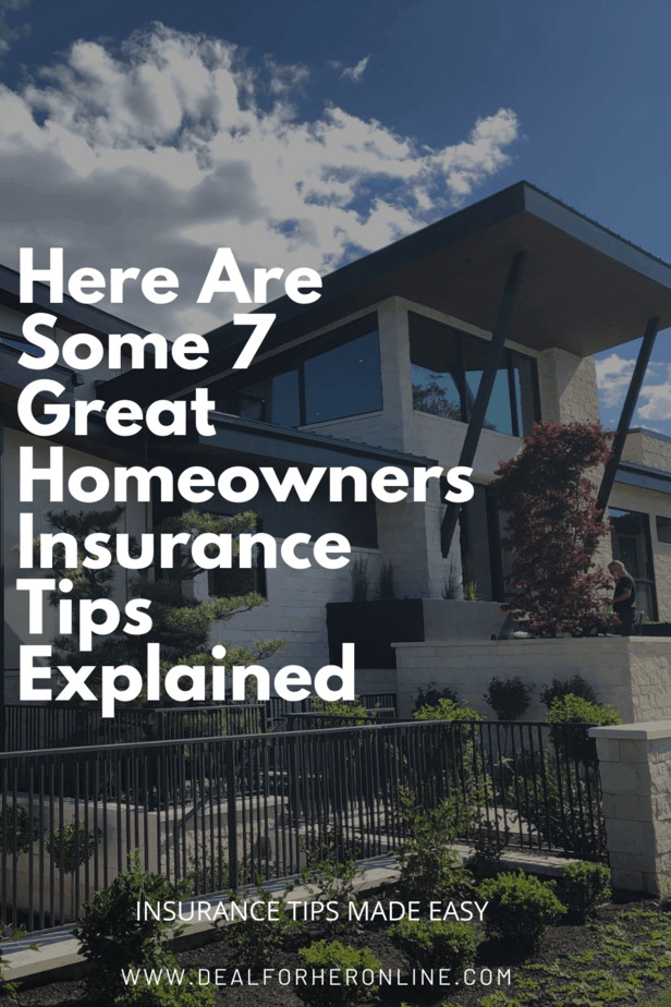 Here Are Some 7 Great Homeowners Insurance Tips Explained